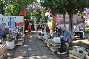 ярмарка на Комсомольской